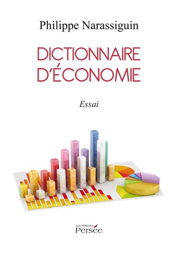 Couverture du livre Dictionnaire d'économie