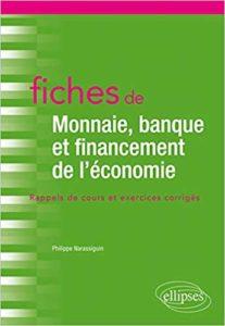 Couverture du livre intitulé Fiches de Monnaie, banque et financement de l'économie